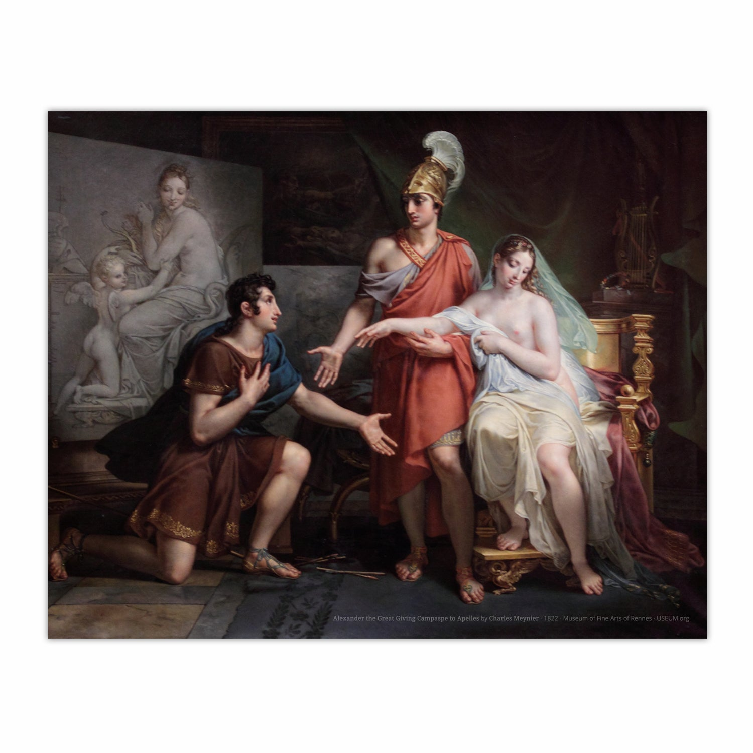 Alexander the Great Giving Campaspe to Apelles