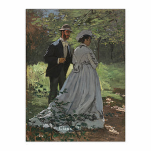 "Bazille and Camille (Study for ""Déjeuner sur l'Herbe"")"