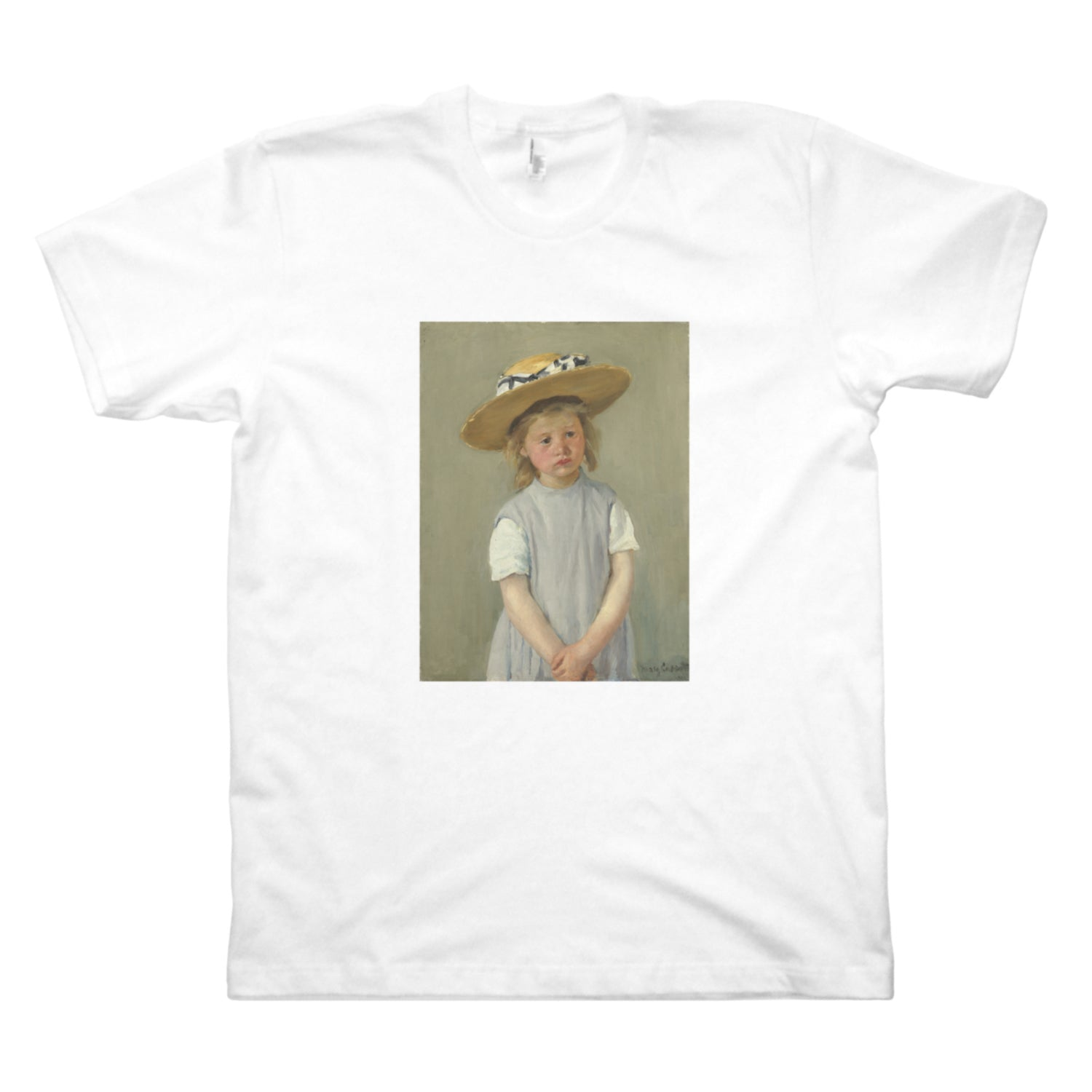 Child in a Straw Hat