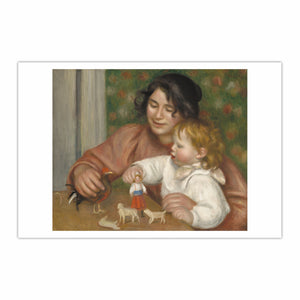 Child with Toys - Gabrielle and the Artist's Son, Jean