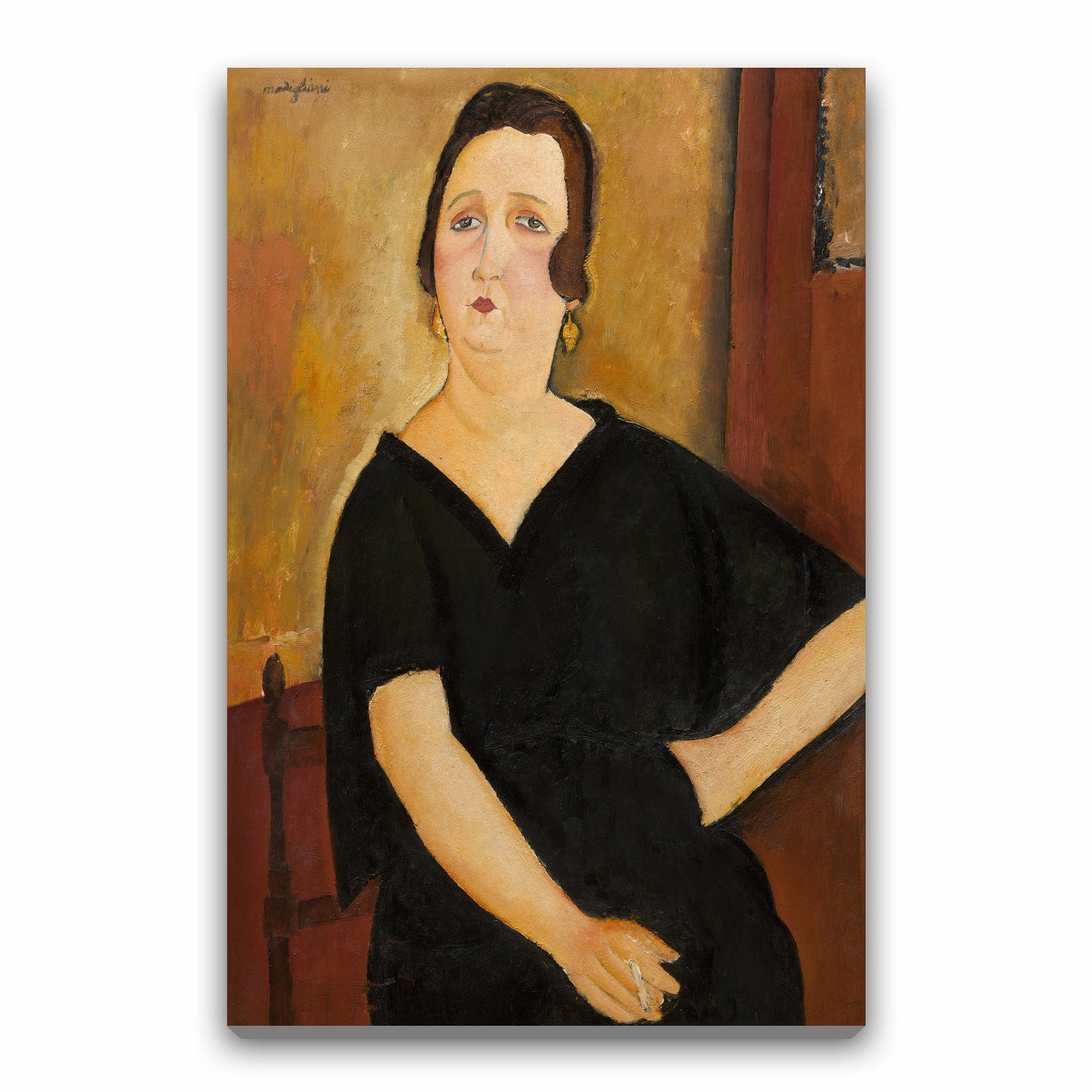 Madame Amédée (Woman with Cigarette)