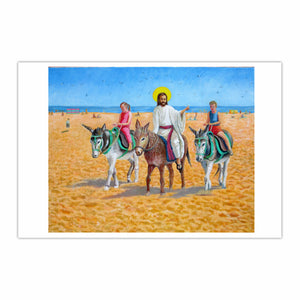 'Skeggy Donkeys' or 'The entry of Christ into Skegness'
