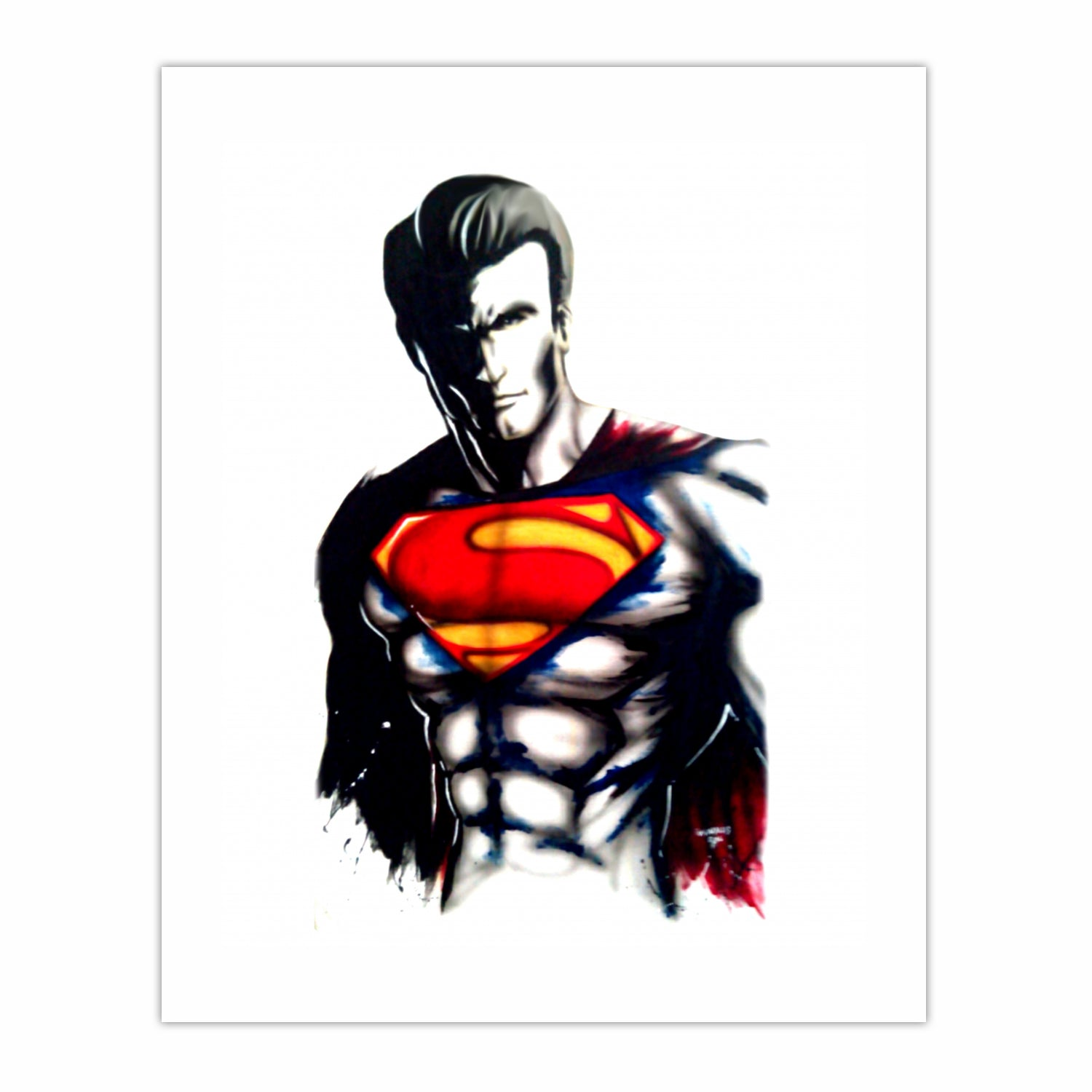 Superman shadow