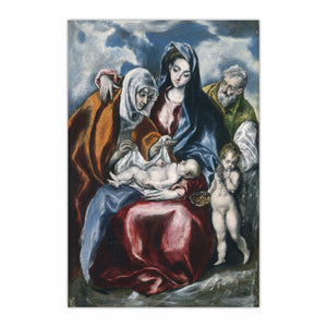 The Holy Family with Saint Anne and the Infant John
