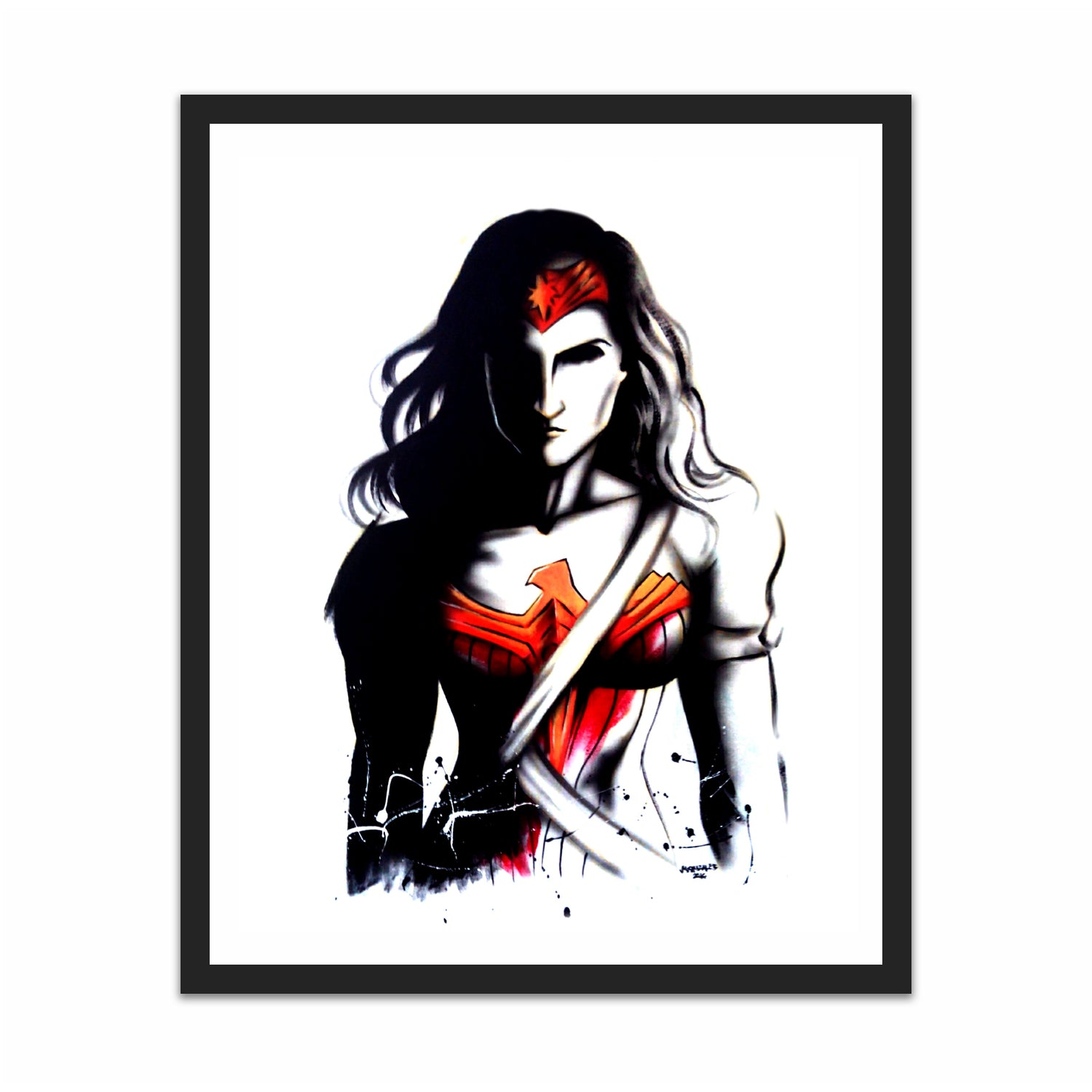Wonder woman shadow