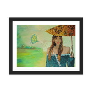 Young Woman with Parasol
