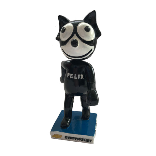 Felix Chevrolet Replica Cat Statue Bobble Head Circa 1956