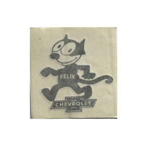 Felix Chevrolet Circa 1925 Decal Sticker (4.5 X 5 Inches)