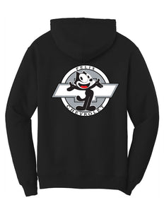 Felix Chevrolet Felix The Happy Cat Mens Hoodie