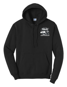 Felix Chevrolet's Mens Felix The Cat Low Rider Hoodie
