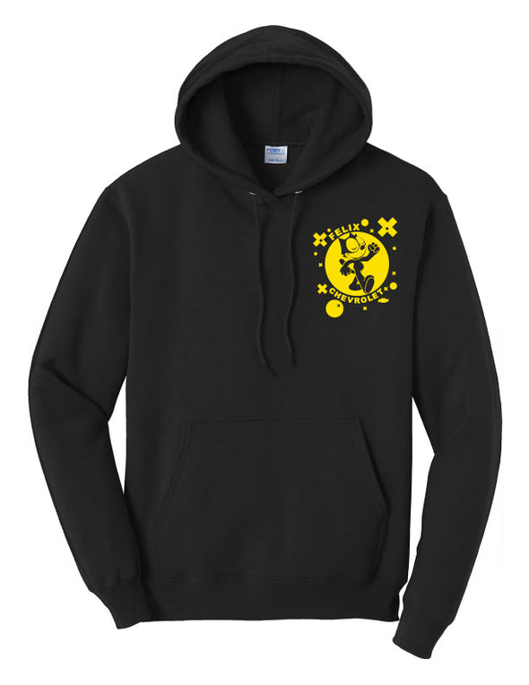 Felix The Cat Retro 1940 Bag of Tricks Hoodie