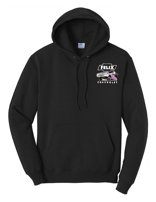 "Felix Chevrolet- Men's Purple ""Metal Flake"" IMPALA Hoodie"