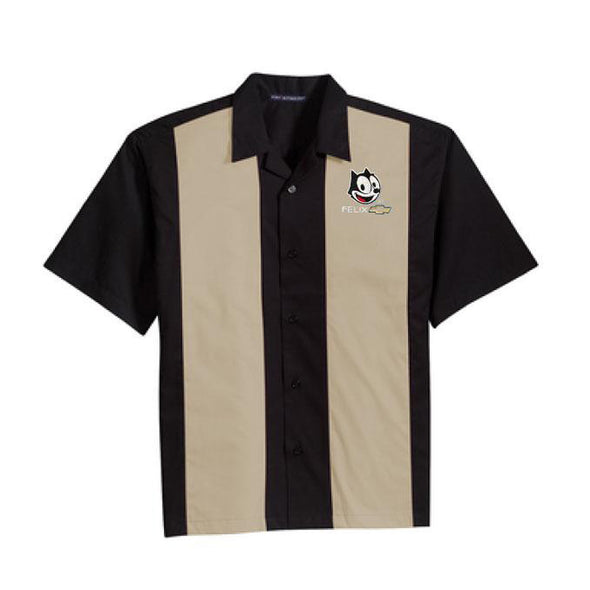Felix Chevrolet Felix The Cat Bowling Shirts in 3 Colors - REG $49.99 (NOW 15% OFF)