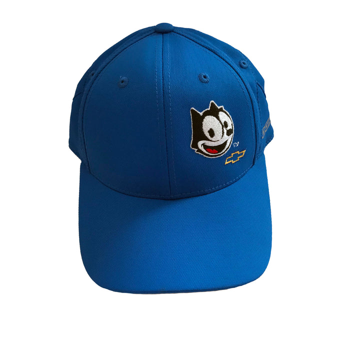 Felix Chevrolet Hat in Two Colors - Blue and Grey