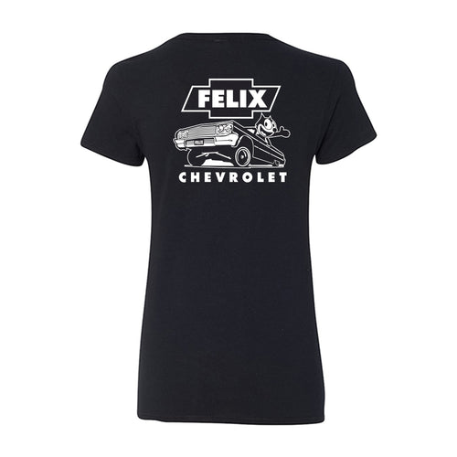 Felix the Cat Chevrolet 64 Impala Women T-Shirt