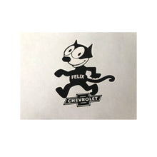 Load image into Gallery viewer, Felix Chevrolet Circa 1925 Decal Sticker (4.5 X 5 Inches)
