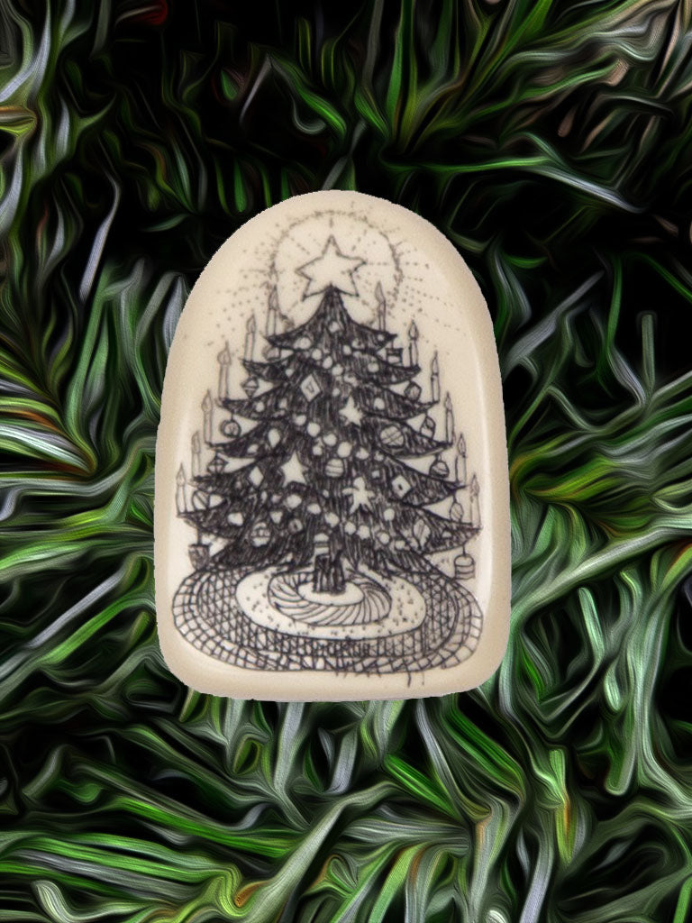 """O Christmas Tree"" (pin only)"
