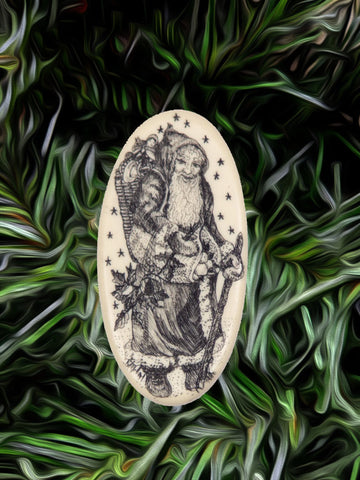 """Father Christmas"" (pin only)"