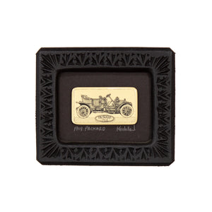 """1908 Packard"" Small Chip Carved Frame"
