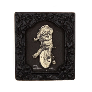"""Look Ma… No Hands!"" Small Chip Carved Frame"