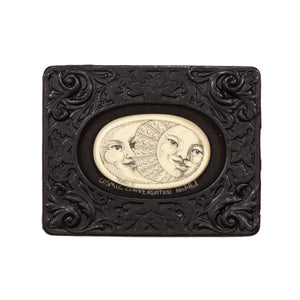 """Cosmic Conversation"" Mini Chip Carved Frame"