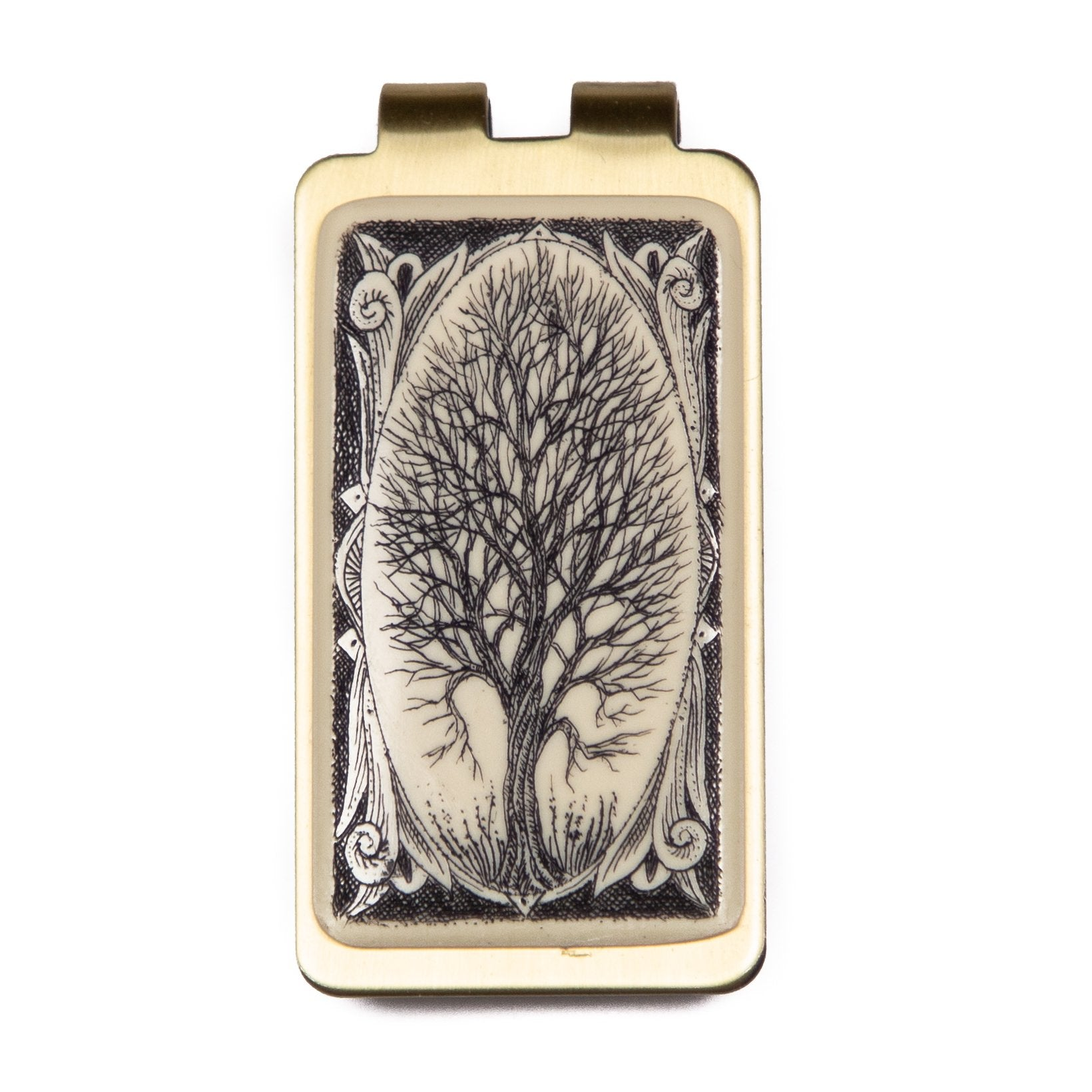 """Borders"" Money Clip"