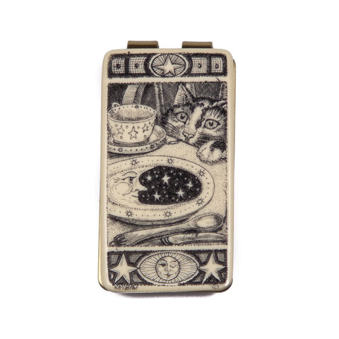 """What's for Dinner?"" Money Clip"