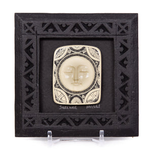 """Sublime"" Small Chip Carved Frame"
