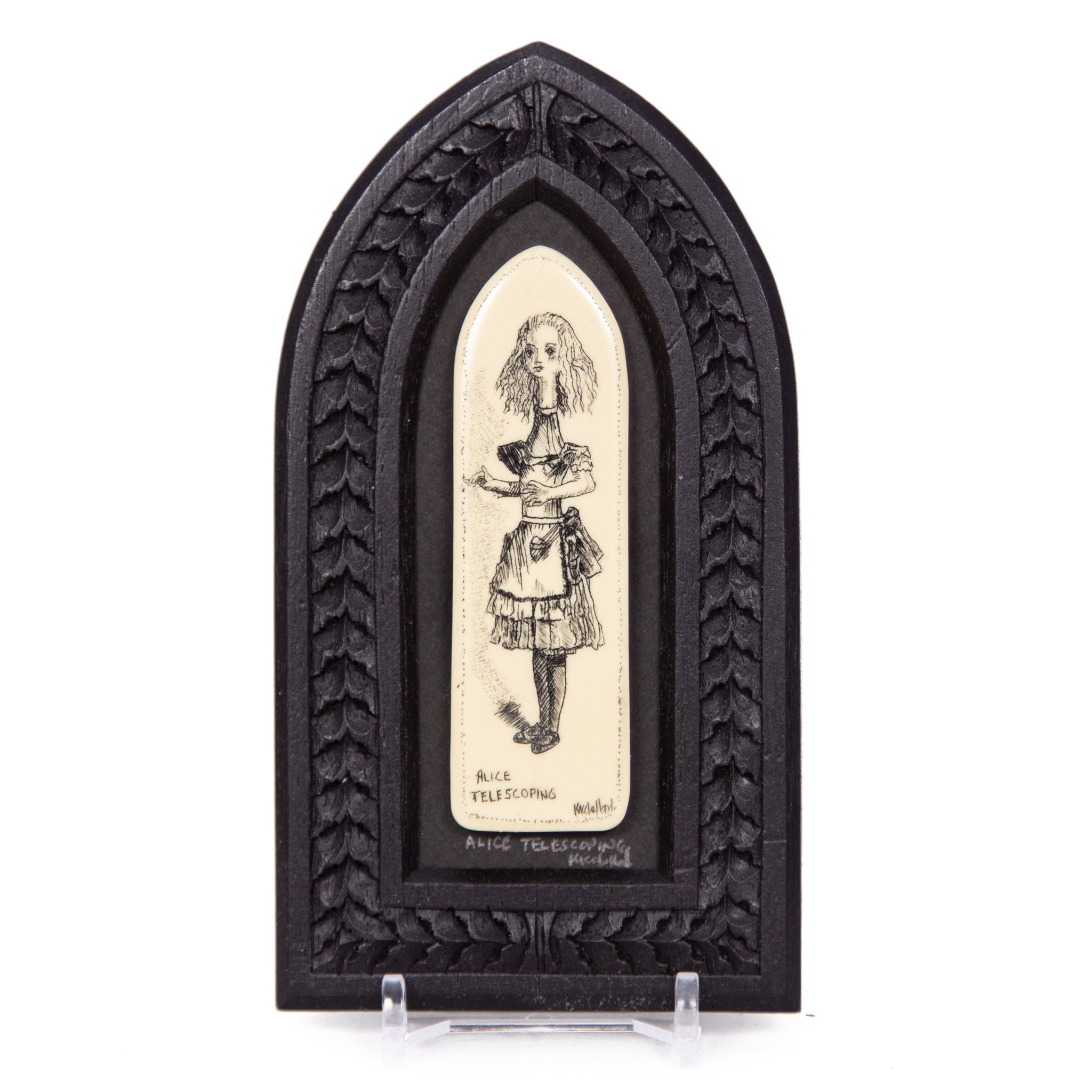 """Alice Telescoping"" Small Chip Carved Frame"