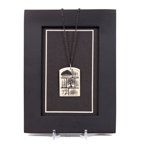 """Passages"" Necklace with Chain"