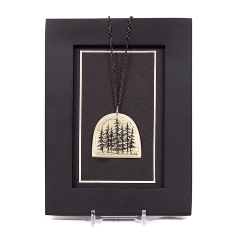 """Sentinels at Twilight"" Necklace with Chain"