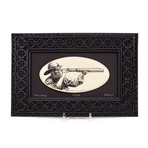 """The Watch"" Large Chip Carved Frame"