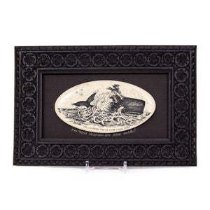 """John Tabor's Legendary Ride"" Large Chip Carved Frame"