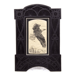 """In Flight... Soaring"" Large Chip Carved Frame"