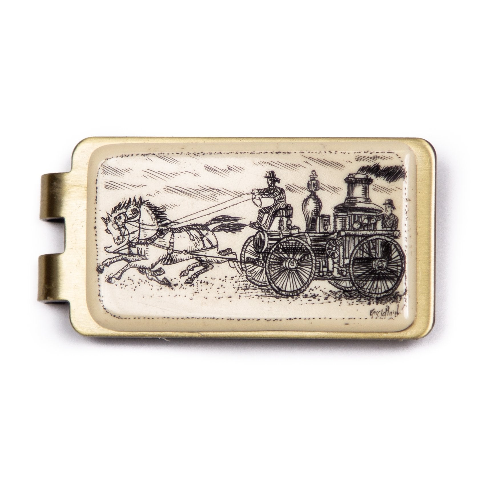 """Hurry"" Money Clip"