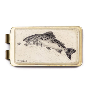 """Rainbow Trout"" Money Clip"
