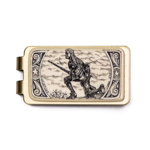 """Minuteman"" Money Clip"