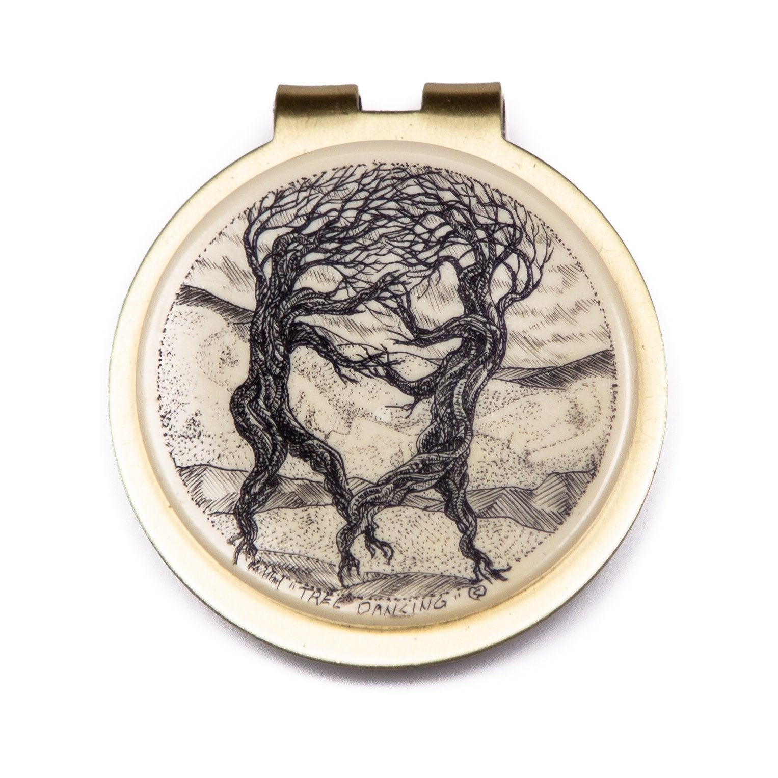 """Tree Dancing"" Money Clip"
