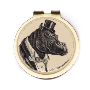 """Hippopompous"" Money Clip"