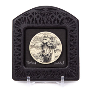 """Tempest"" Small Chip Carved Frame"