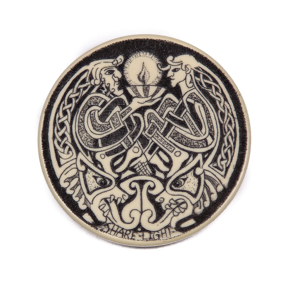 """Share Light and Chase the Dragons of Darkness"" Money Clip"