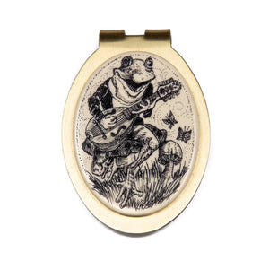 """Play Me a Song, Froggy!"" Money Clip"