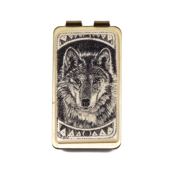 """Eyes of the Wild"" Money Clip"