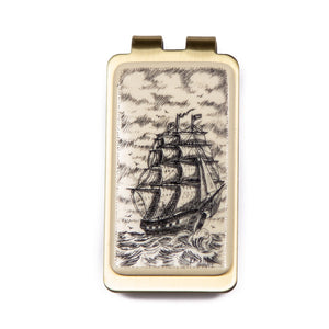 """Clipper Ship"" Money Clip"