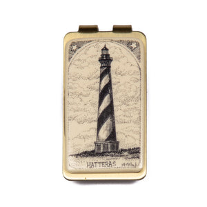 """Hatteras Light"" Money Clip"