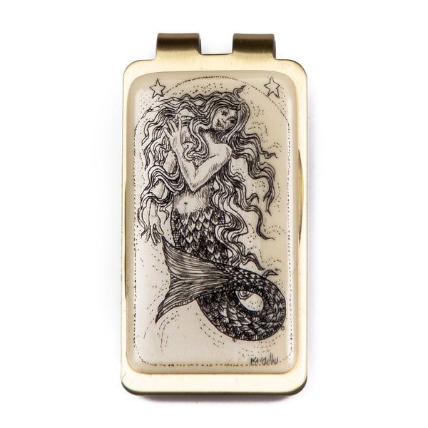 """Chick of the Sea"" Money Clip"