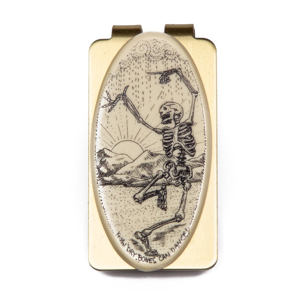 """Dry Bones Can Dance!"" Money Clip"