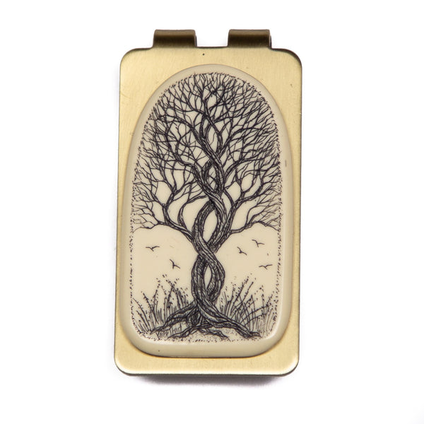 """Beautiful Embrace"" Money Clip"