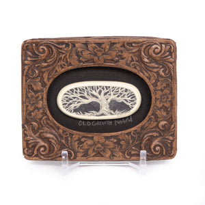 """Old Growth"" Mini Chip Carved Frame"