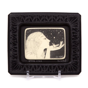 """Star Song"" Small Chip Carved Frame"